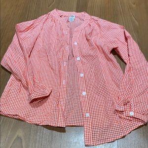 Girls button down shirt